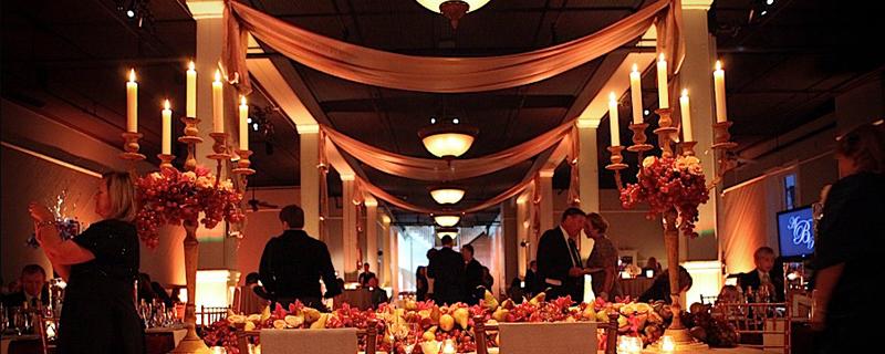 Castle Event Lighting Lynchburg Forest Va Wedding Receptions